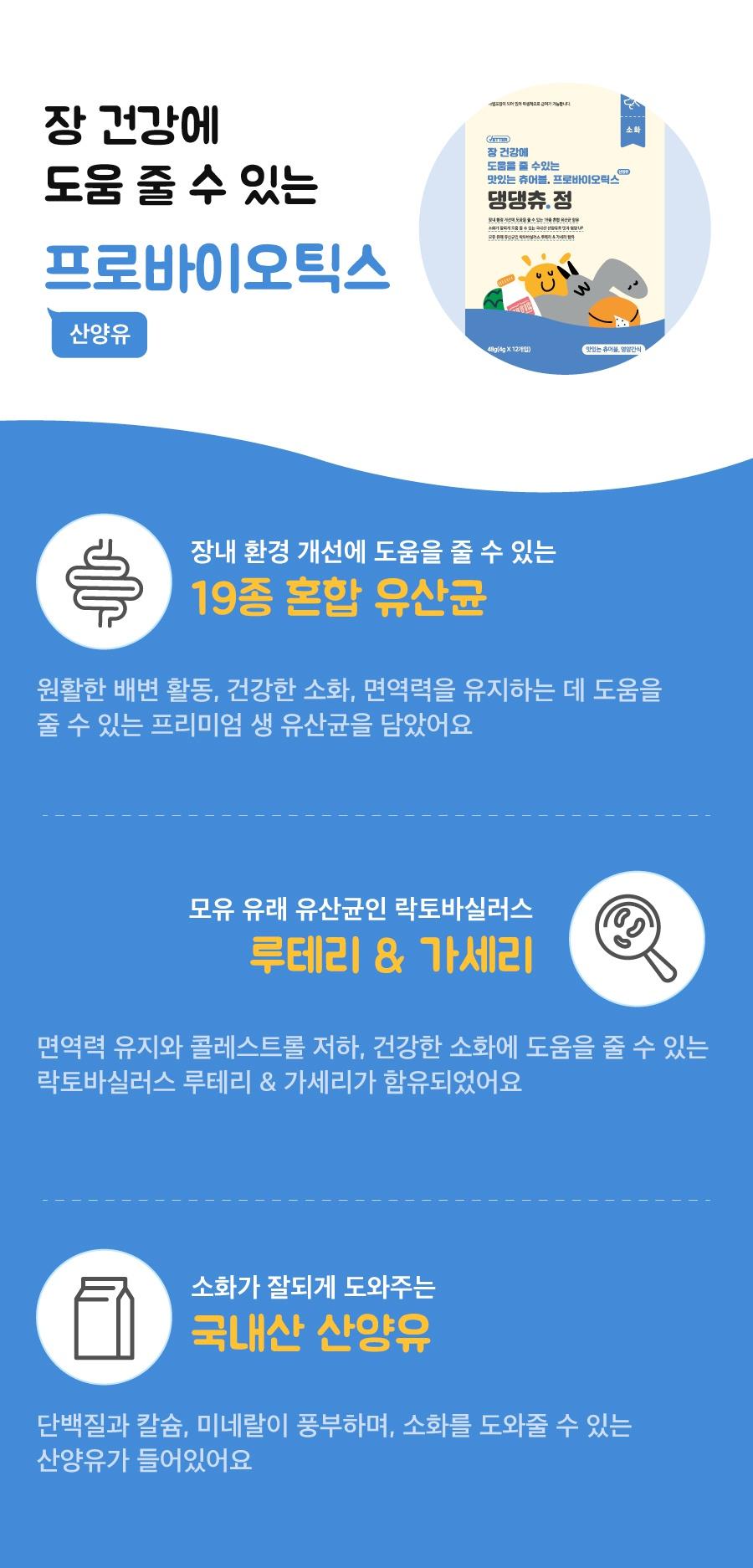 Vetter 댕댕츄정 대용량 (오메가3/프로바이오틱스/루테인/글루코사민)-상품이미지-9